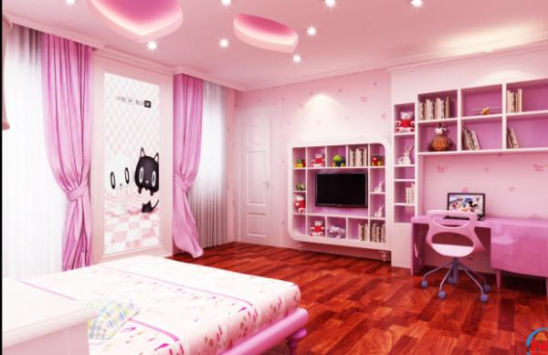 Phòng dành cho bé gái